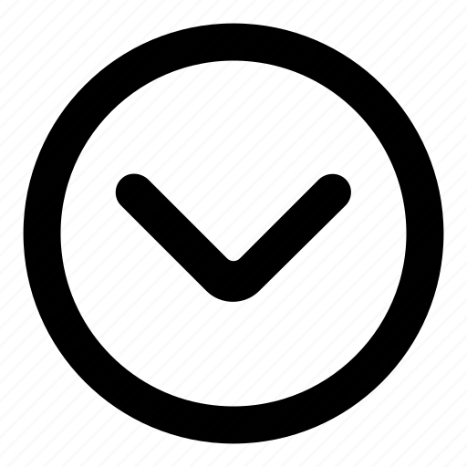 Arrow, arrows, chevron, direction, down icon - Download on Iconfinder