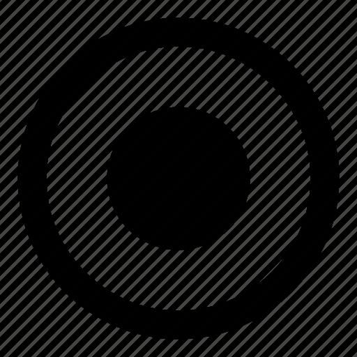 audio, circle, media, rec, record, recording icon