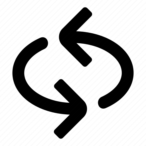 arrows, loop, refresh, repeat, replay, retweet, sync icon