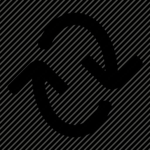 Arrows, loop, refresh, repeat, replay, retweet, sync icon - Download on Iconfinder