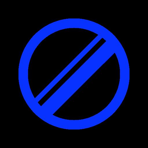 cancel, delete, error, forbidden, remove, stop icon