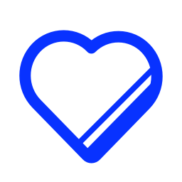favourite, heart, love, marked, special icon