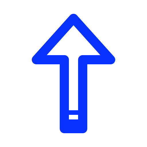 arrow, direction, navigation, top, up icon