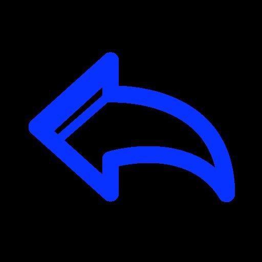 arrow, back, left, refresh, renew, restart icon