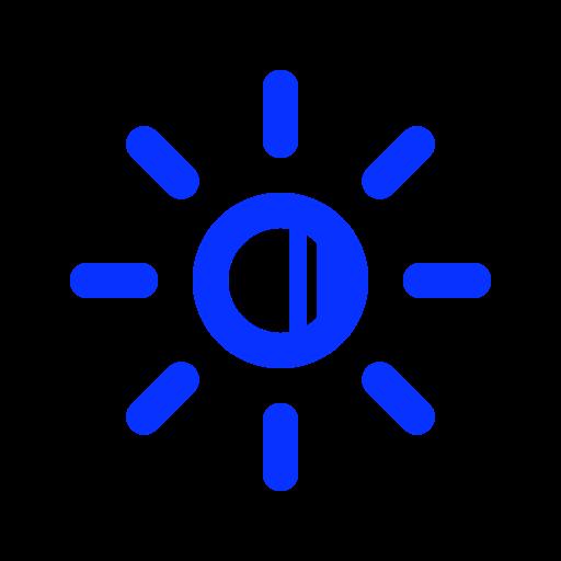 bright, brightness, light, monitor, more, screen, sun icon