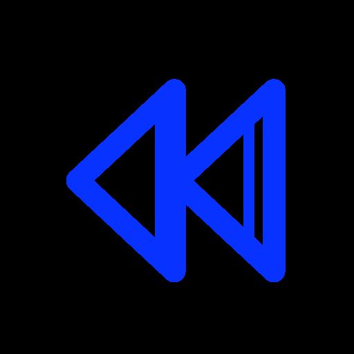audio, back, control, media, music, play, rewind icon