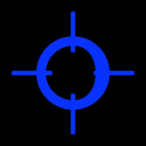 aim, bullseye, focus, goal, purpose, target, targeting icon