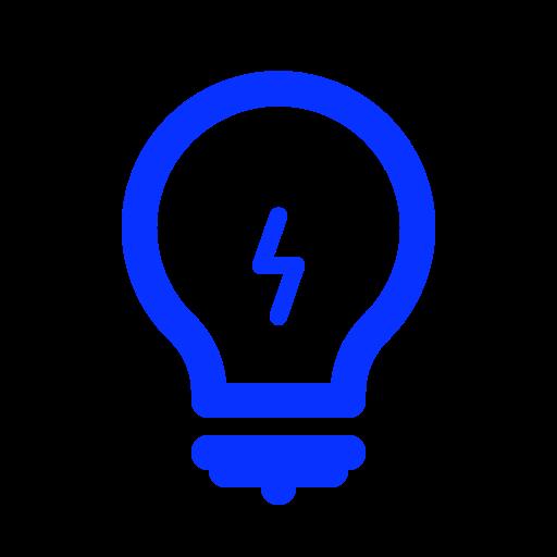 Bulb, creative, hint, idea, lamp, light, tip icon - Free download