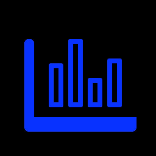 Bar, chart, diagram, line, report, sales, statistics icon - Free download