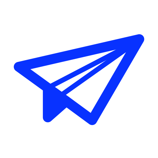 airplane, delivery, email, mail, paper, send, sent icon