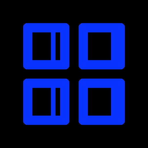 controls, grid, menu, navigation icon