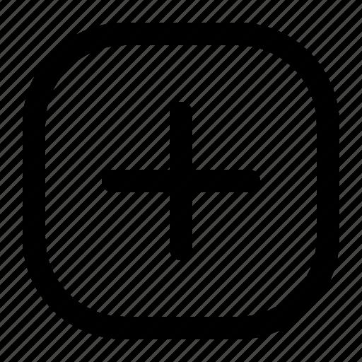 Add, menu, navigation, plus icon - Download on Iconfinder