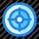 aim, spot, target icon