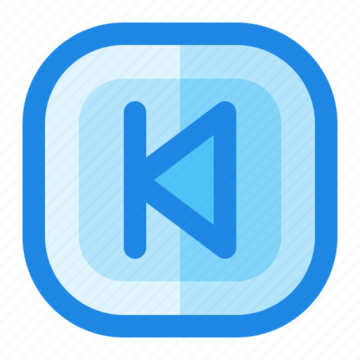 Arrow, backward, control, music, previous icon - Download on Iconfinder