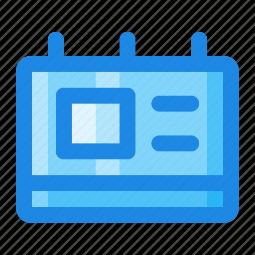 calendar, date, event, reminder, schedule icon