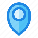 gps, location, map, navigation, pointer icon