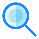 find, magnifier, menu, search icon