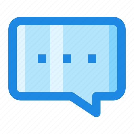 Chat, conversation, message, typing icon - Download on Iconfinder