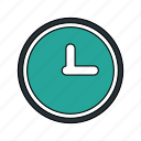 business, clock, online, time icon