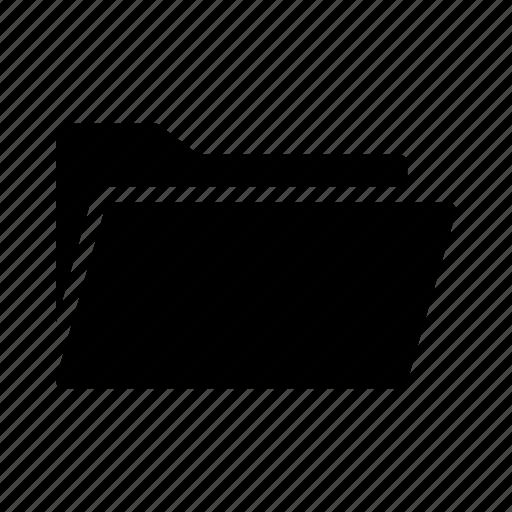 archive, closed, folder, multimedia icon