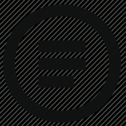 circle, hamburger, list, menu, navigation, option, settings icon