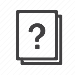 faq, help, information, mark, query, question, support icon