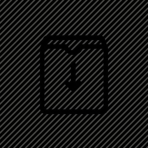 archive, delete, hide, pack, ui icon