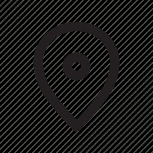 line, location, pin, ui icon