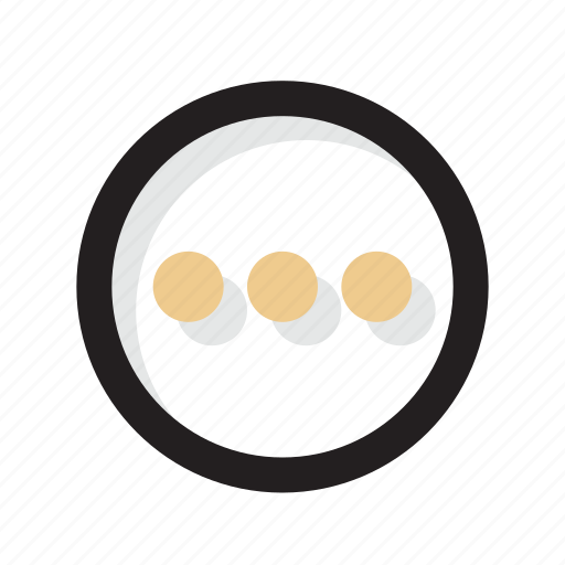 gold, line, more, other, shadow, ui icon