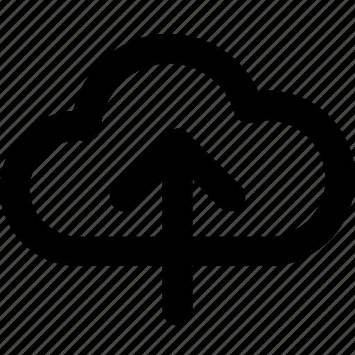cloud, files, storage, upload icon