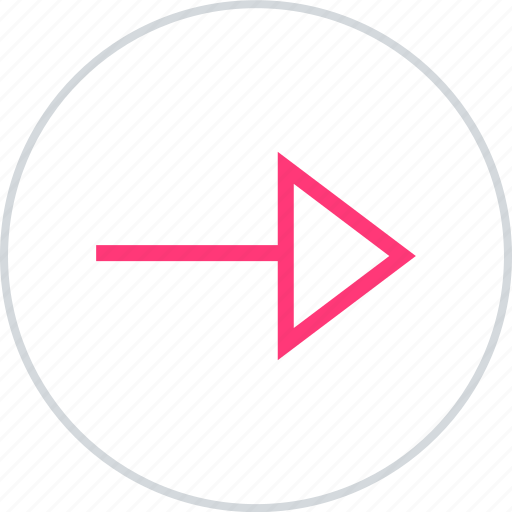 arrow, next, point, pointer icon