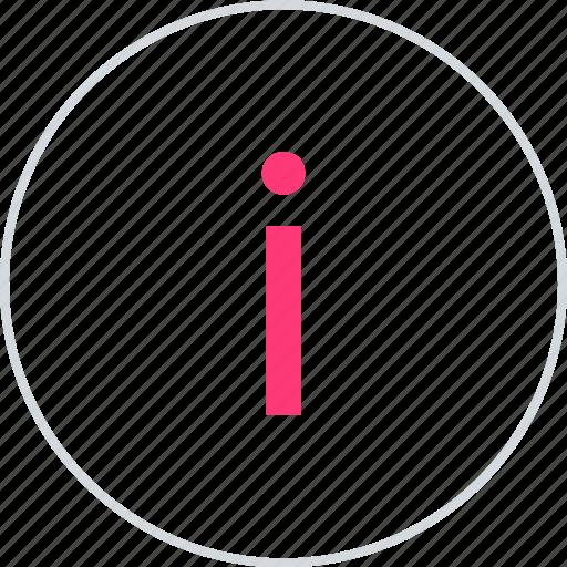 info, information, online icon