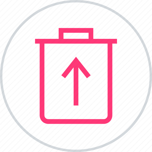 can, restore, trash icon