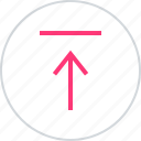 online, upload, web icon