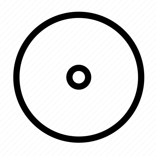 center, circle, goal, inside, middle, round, target icon