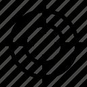 aim, bullseye, focus, goal, seo, target, targeting icon