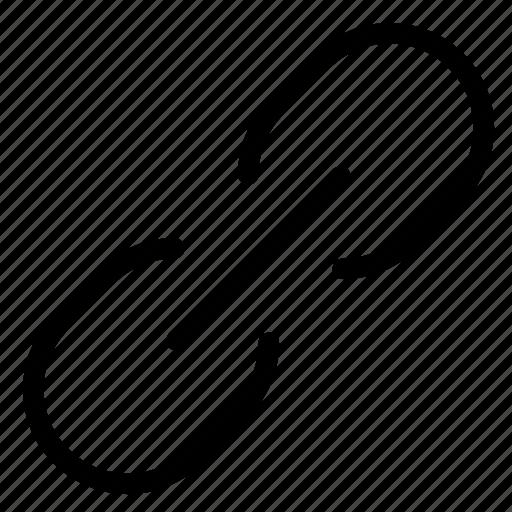 attach, attachment, chain, download, hyperlink, link, url icon
