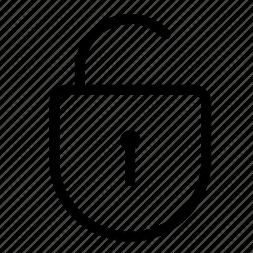 access, lock, password, secure, security, unblock, unlock icon