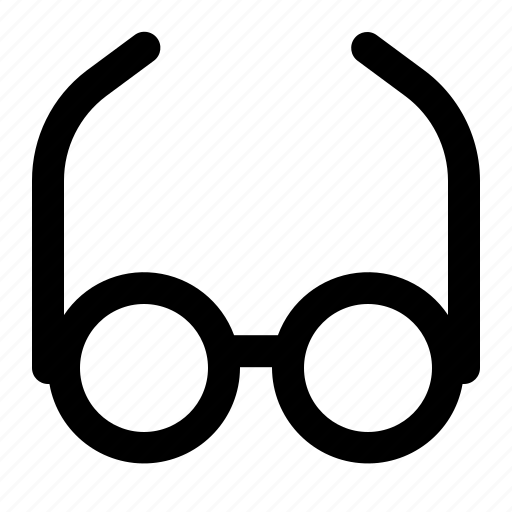 eyeglasses, glasses, spactecles icon