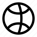 basket, drible, ios, ios7 icon