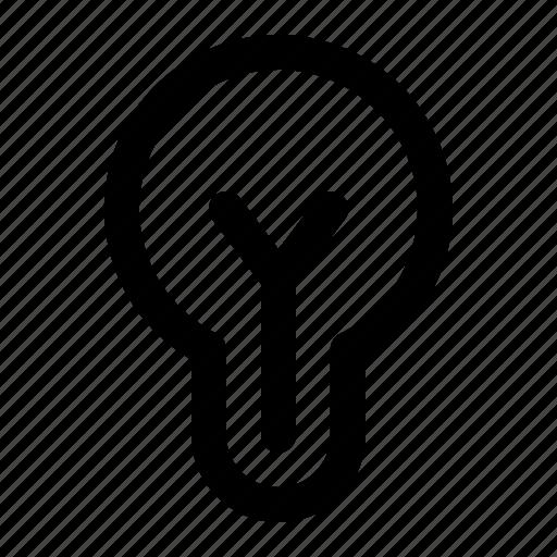bright, lamp, ui icon