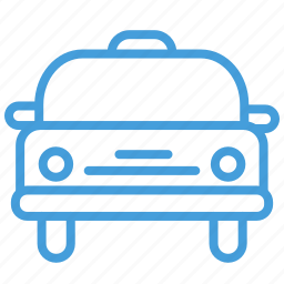 blue, car, drive, taxi, transportation, ui icon