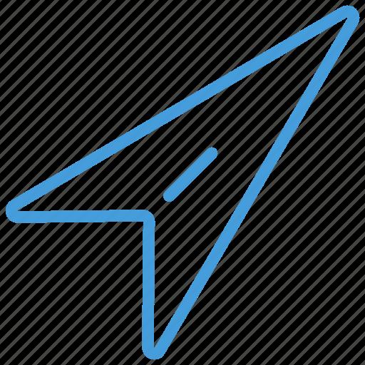 blue, message, plan, sent, standard, ui icon