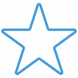 blue, standard, star, ui icon