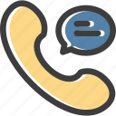 call, chat, interface, phone, telephone, ui, user