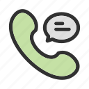call, chat, phone, telephone icon