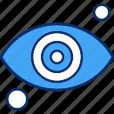 eye, find, look, view