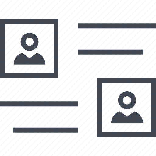 abstract, creative, layout, ui, ux, wireframe icon