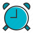 alarm, alert, clock, time, timer, ui, ux icon