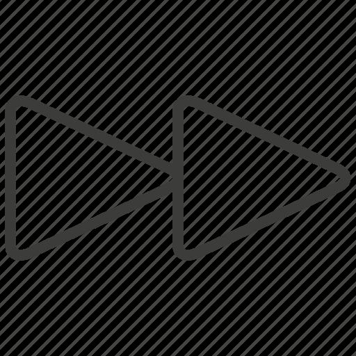 forward, music button, next icon